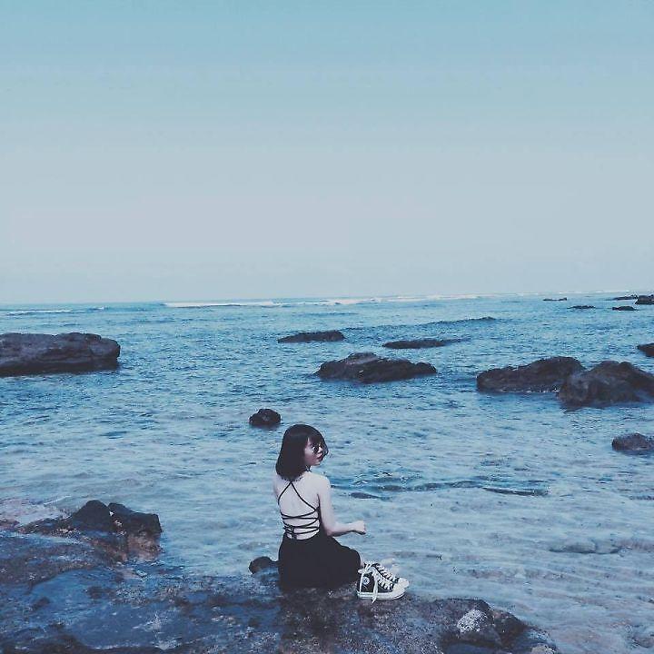 โพสต์ถ่ายรูปริมทะเล