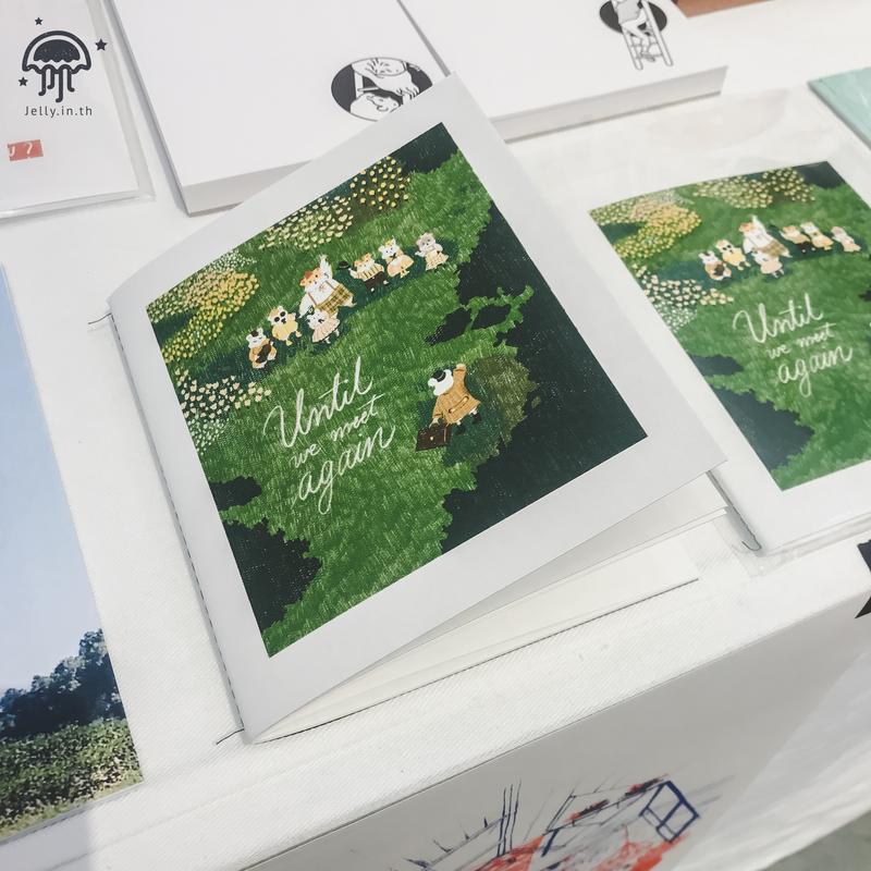 Bangkok art book fair 2019