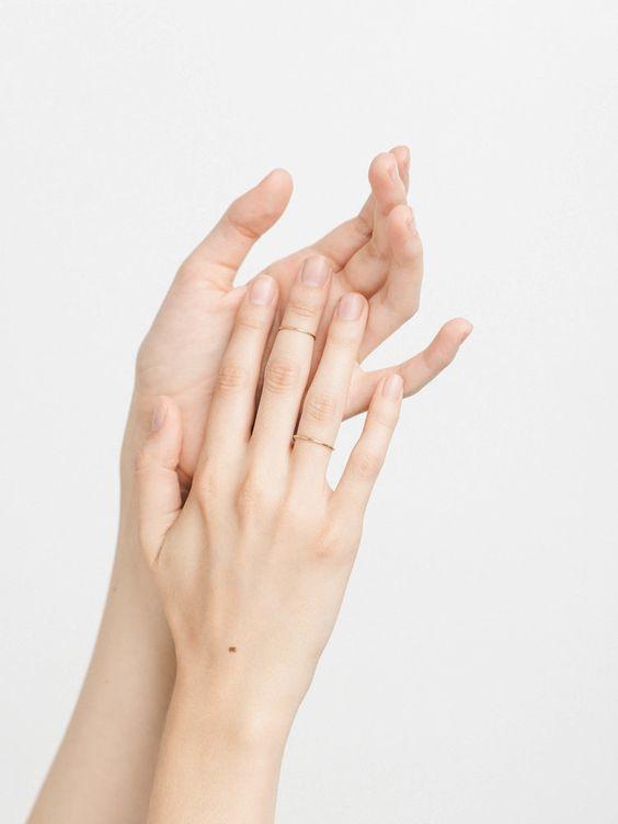 มือเหี่ยว