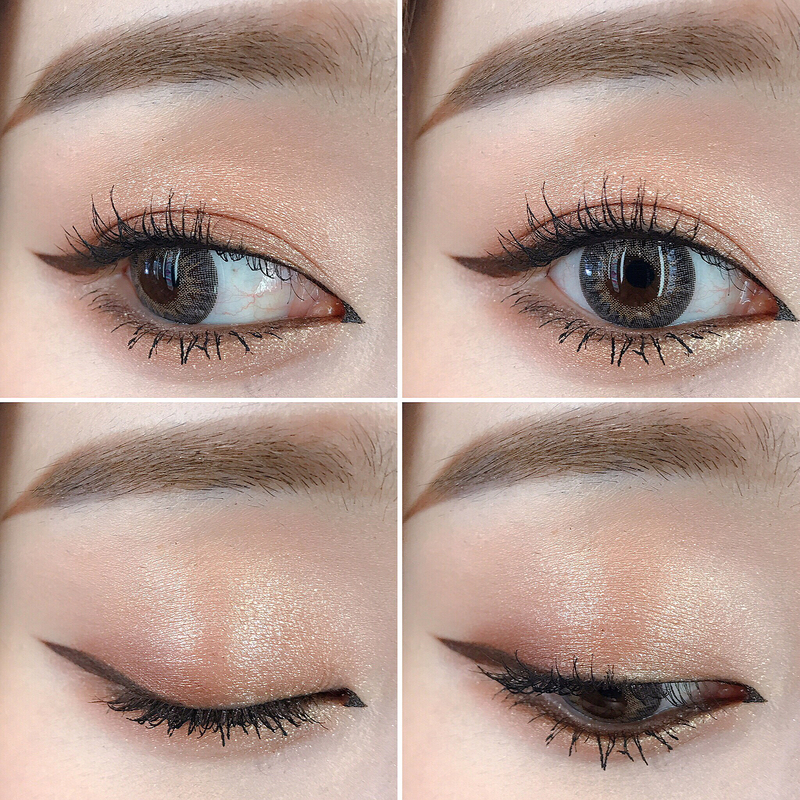 softbrown-eyeshadow-korea