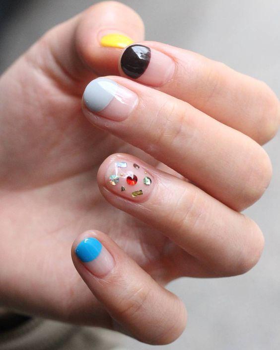Half-nail-idea