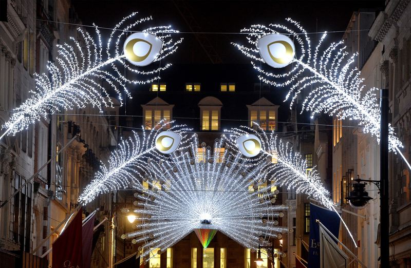 Bond Street Christmas Lights