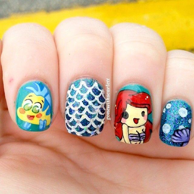Ariel-nails