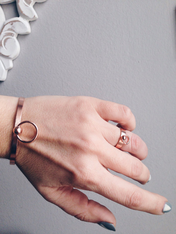 Rose-gold-rings