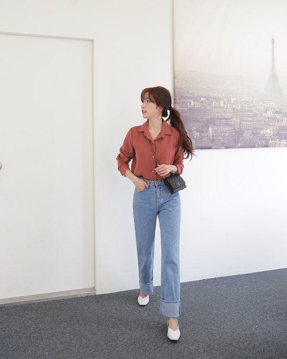 shirt-work-outfits-ideas