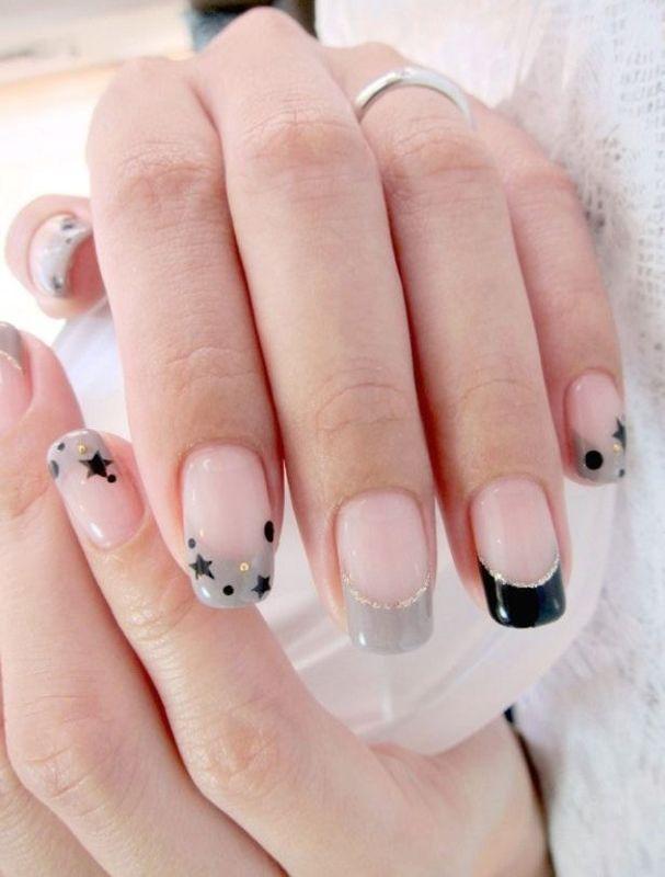 star-nail-idea