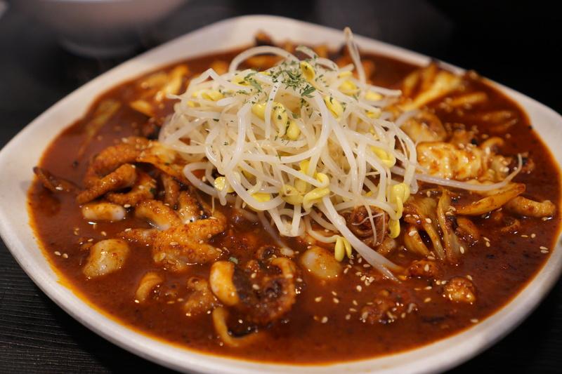 อาหาร ปลาหมึก เกาหลี